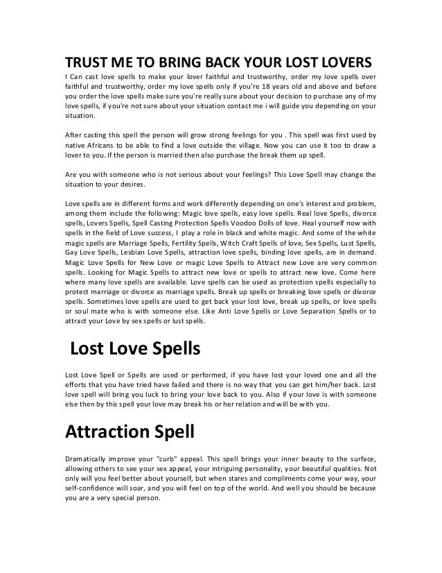 Lost lovemarriagebindingdivorce spells and charms usa canada ind trust me to bring back your lost lovers i can cast love spells to make your solutioingenieria Choice Image