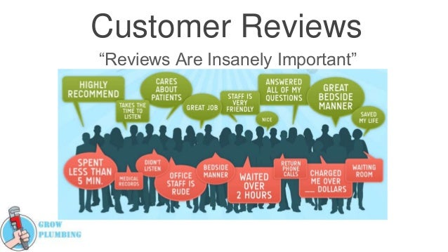 "Customer Reviews ""Reviews Are Insanely Important"""