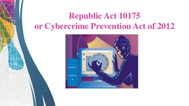 Cybercime offenses include, but are not limited to: • Integrity and availability of data • Illegal access of computers thr...