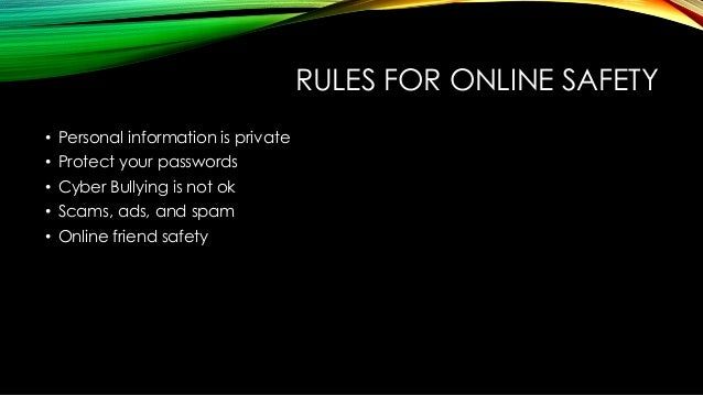 Online dating safety rules in Australia
