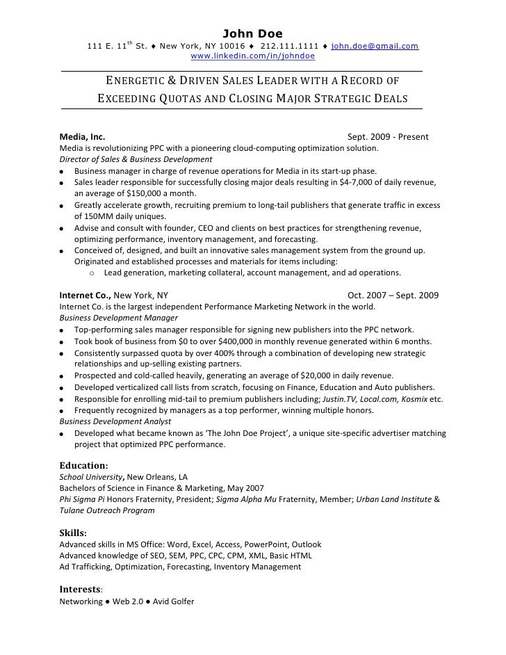 Online Resume Examples ] - you are viewing a sample resume ...