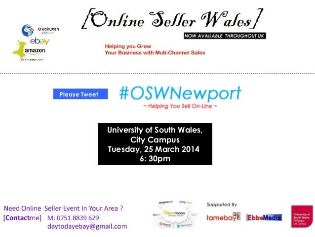 University of South Wales, City Campus Tuesday, 25 March 2014 6: 30pm Please Tweet