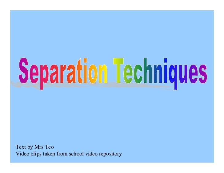 Text by Mrs Teo Video clips taken from school video repository