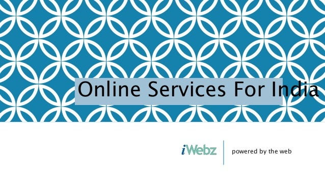 powered by the web Online Services For India