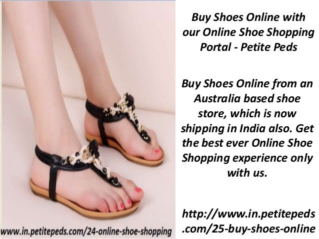 Shoes Online Shopping for Ladies Shoes - Petite Peds