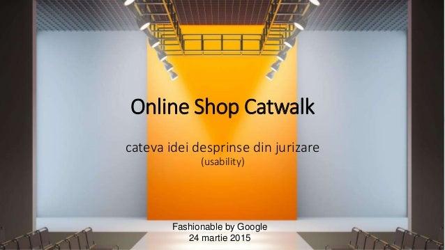 http://ECOMpedia.ro http://twitter.com/ltaloi http://www.linkedin.com/in/LiviuTaloi http://facebook.com/ltaloi/ Online Sho...
