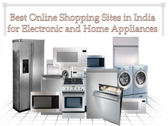 Online shop for electronics and home appliances products