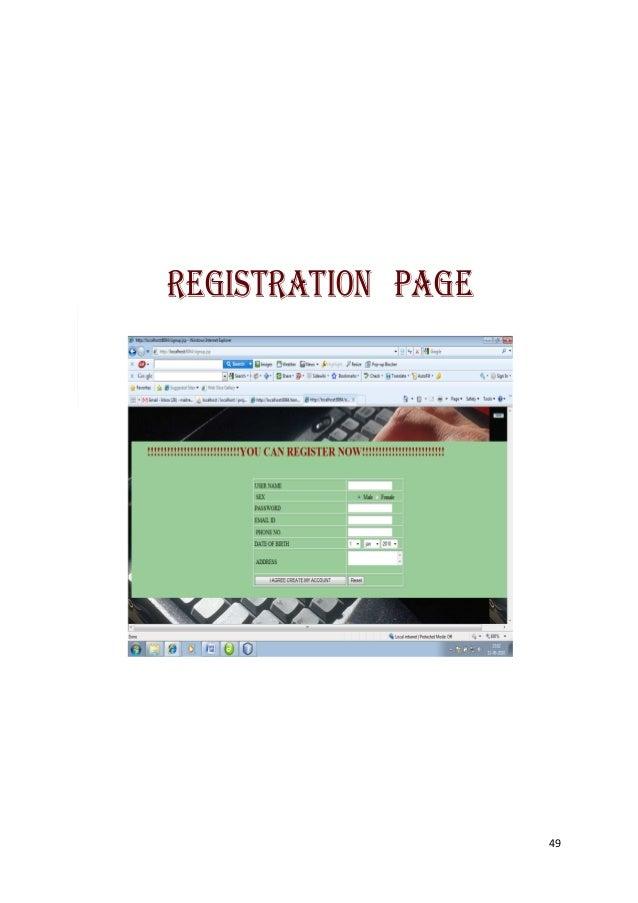 REGISTRATION PAGE                    49