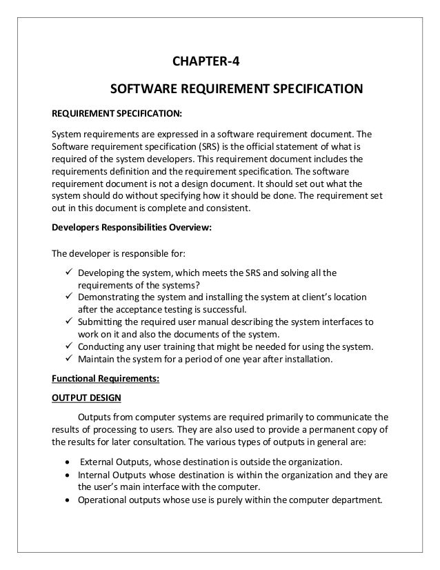 software requirements specification online bookstore Communication technical requirements students enrolled in the communication program are responsible for ensuring they have the minimum system hardware and software required in the courses system requirements often change, so it is important that students maintain awareness of the various minimum hardware requirements for the required software.