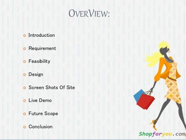 Online Shopping Full Project Presentation (20 slides) Slide 2