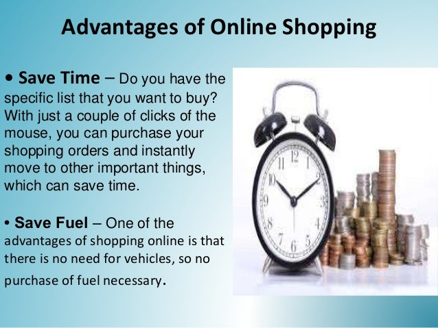 Online Shopping Advantages And Disadvantages