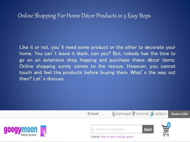 Online shopping in india for home decor
