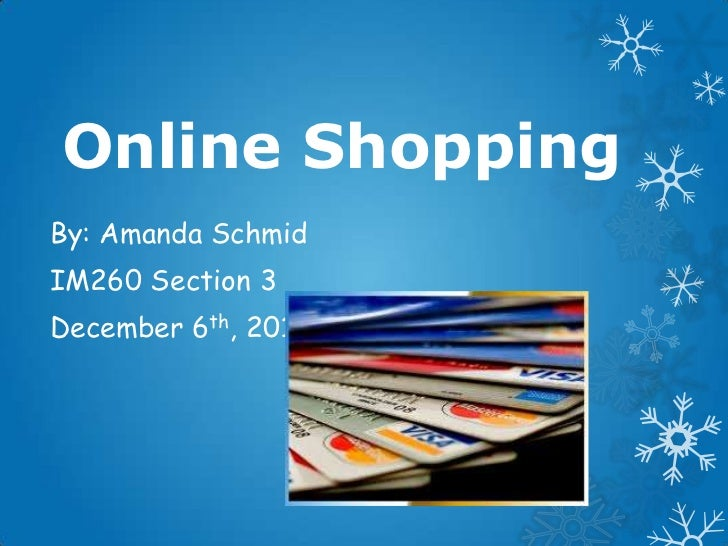 Online Shopping Presentation - Online shopping ppt presentation