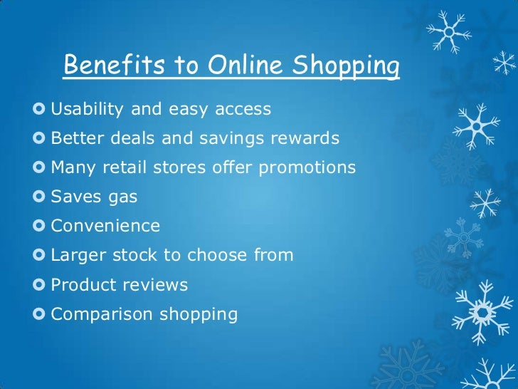 Online shopping presentation for What are some good online shopping sites
