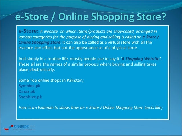 Symbios online shopping in pakistan