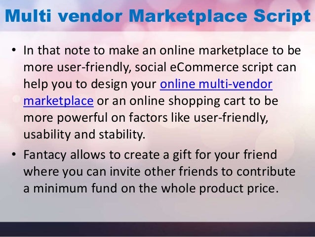 How About A Social Ecommerce Script For Your Online Marketplace