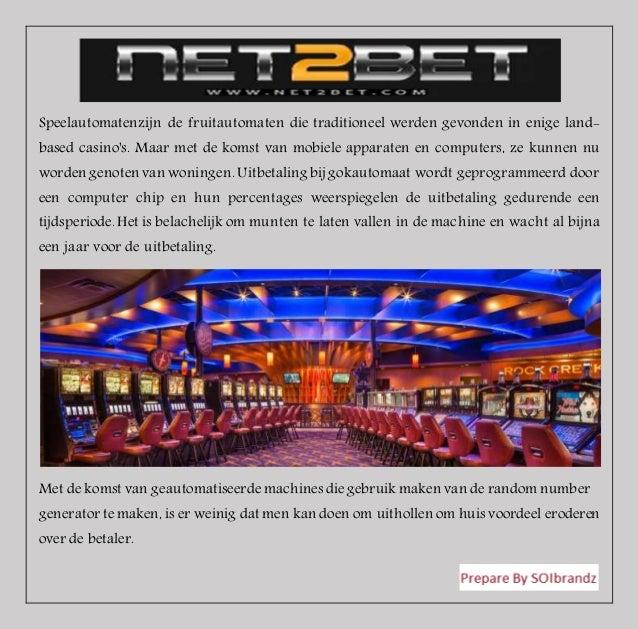 Speelautomatenzijn de fruitautomaten die traditioneel werden gevonden in enige land- based casino's. Maar met de komst van...