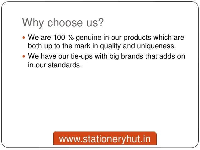 Online Stationery Store Slide 3