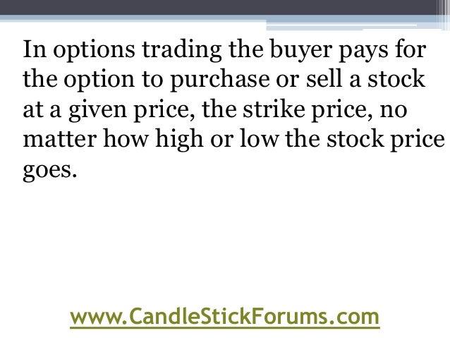 Buy stock options online