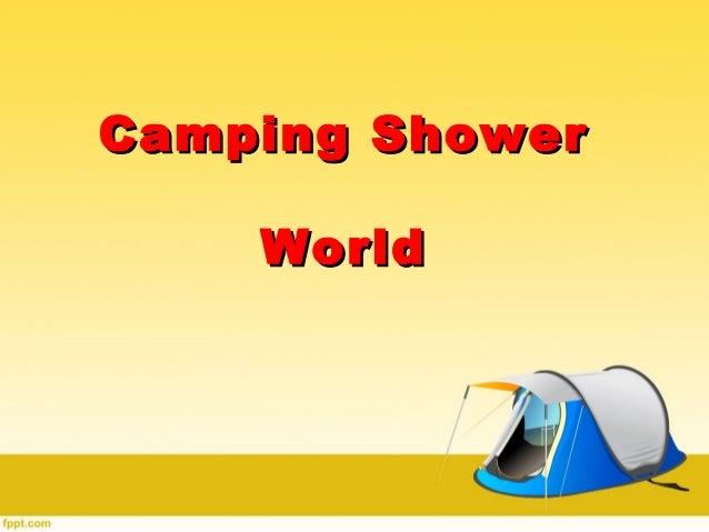 Camping ShowerCamping Shower WorldWorld