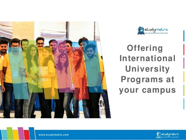 Offering International University Programs at your campus