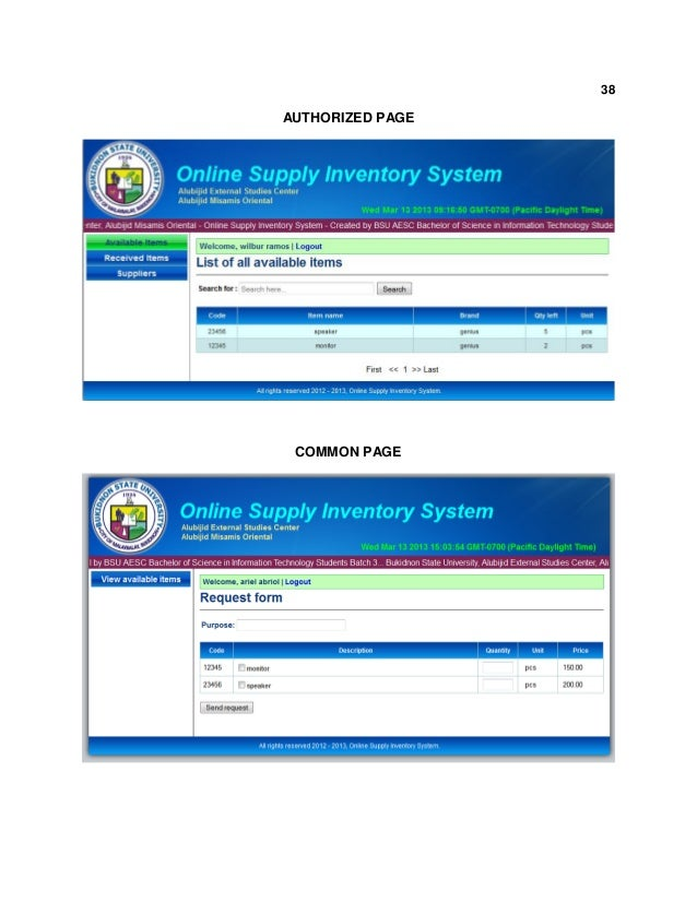iict supplies inventory system Iict covers business, career, and lifestyle for the mba community  post  graduate diploma in logistics & supply chain management  physical  distribution-transportation warehouse-inventory control, merger and acquisition  anatomy,.