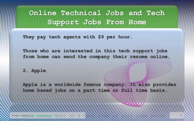 tech support jobs work from home online technical jobs and tech support jobs from home 2736