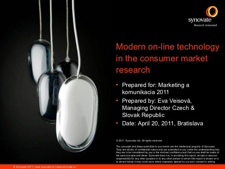 Modern on-line technology                                                      in the consumer market                     ...