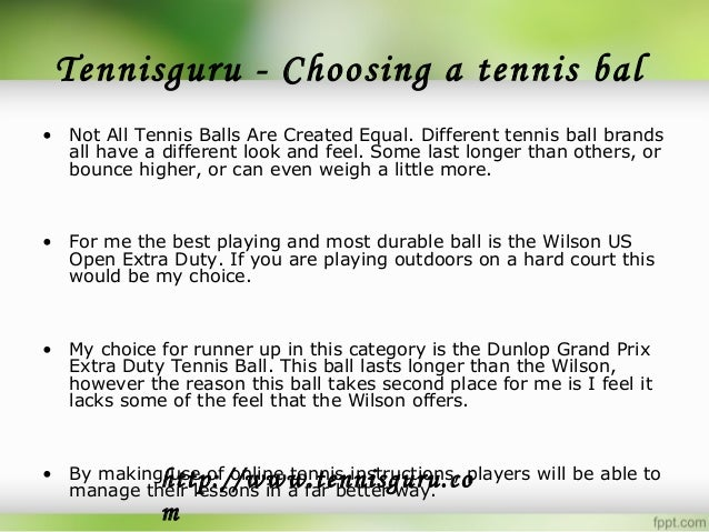 What Is Online Tennis Instruction?   Wild Waters Park