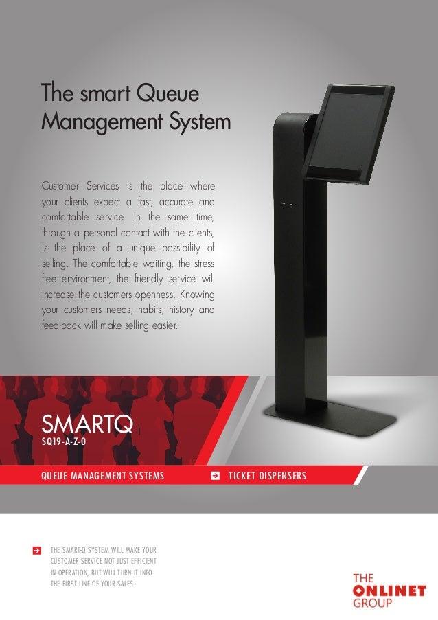 Onlinet Group Queue Management Kiosk Digital Signage