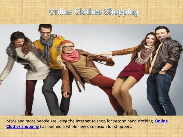 Thrift clothing online