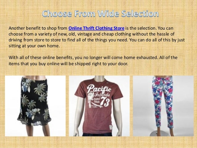 Online clothes resale