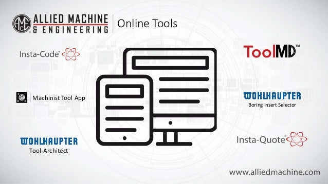 Free Online Tools for Holemaking & Finishing Cutting Tool