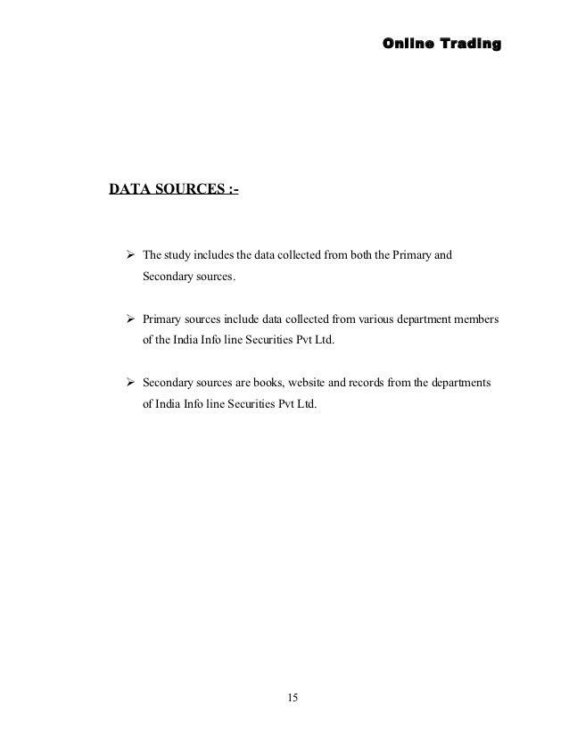 Forex trading india infoline