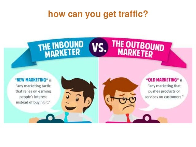 how can you get traffic?