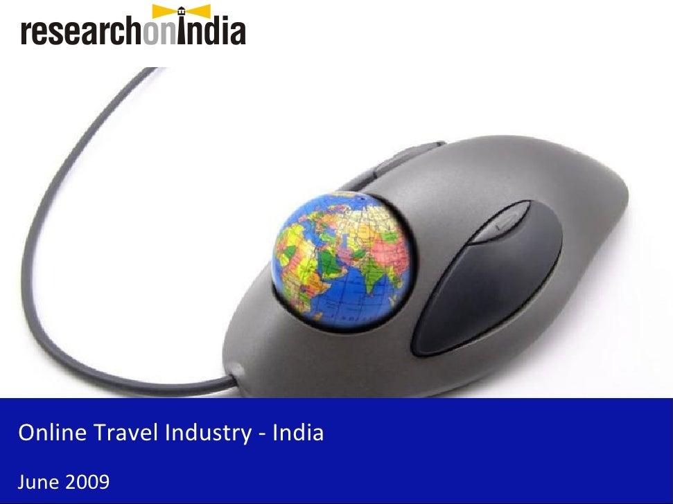 Online Travel Industry - India June 2009
