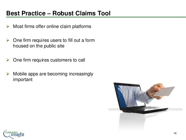 User Experience Best Practices - Insurance Industry