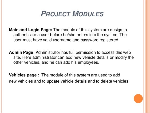 vehicle management system project in c++