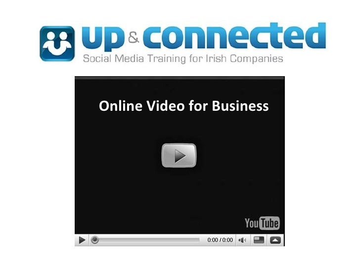 Online Video for Business