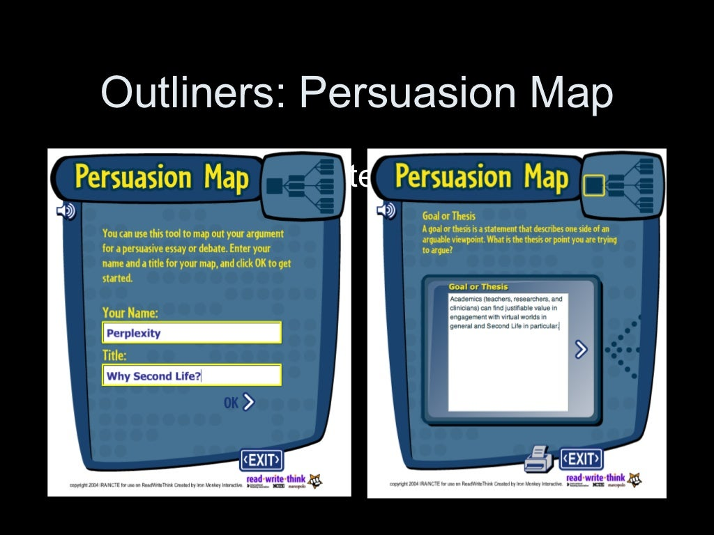 readwritethink org persuasion map Outliners Persuasion Map Ul Li Http Www Readwritethink Org Mater readwritethink org persuasion map