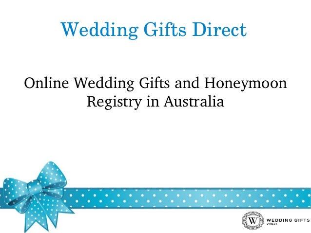 Wedding Gift List Online: Online Wedding Gifts And Honeymoon Registry In Australia