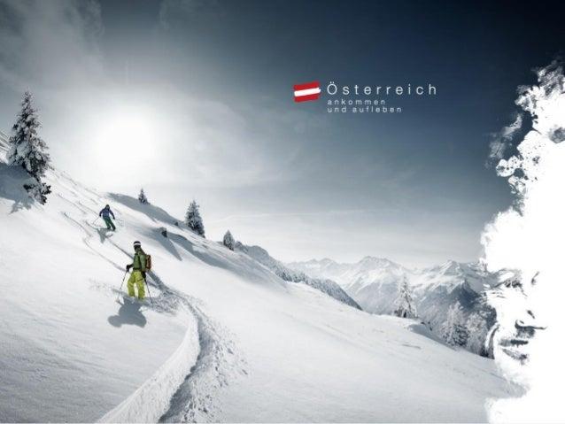 Online Winter Spezial Deutschland 2013 Die wichtigsten Informationen auf einen Blick. Österreich Werbung Deutschland