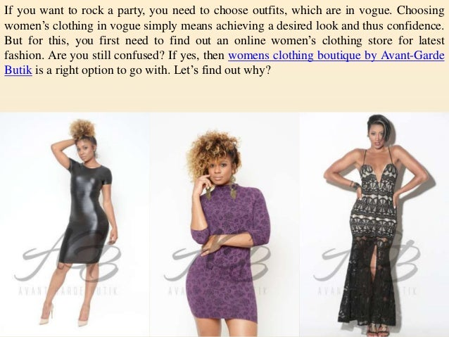 Womens boutique clothing online