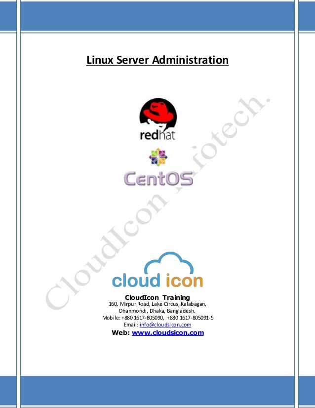 Linux server administration syllabus