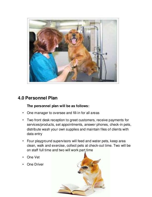 Pet supplies business plan