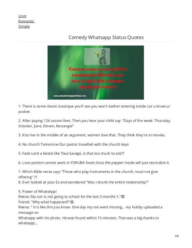 Onlywhatsappstatuscom Comedy Whatsapp Status