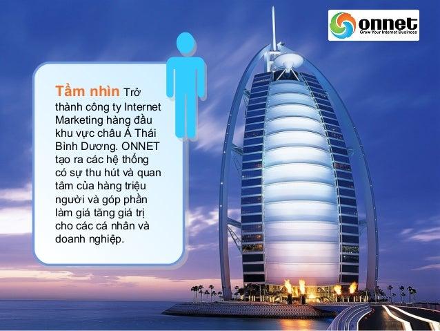 ONNET EDU - Đào tạo Internet Marketing chuyên nghiệp Slide 3