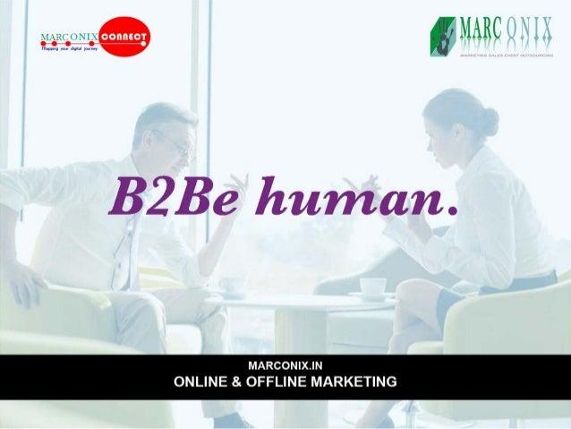 MARC U I L     B2Be human.      MARCON| X.lN ONLINE & OFFLINE MARKETING
