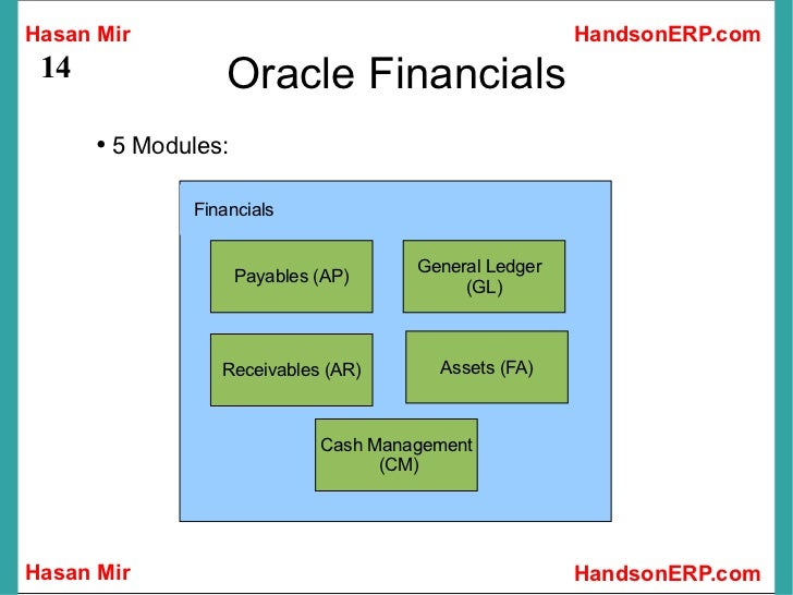 Introduction to Oracle Financials – Oracle Financial Jobs