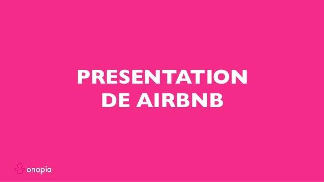 PRESENTATION DE AIRBNB